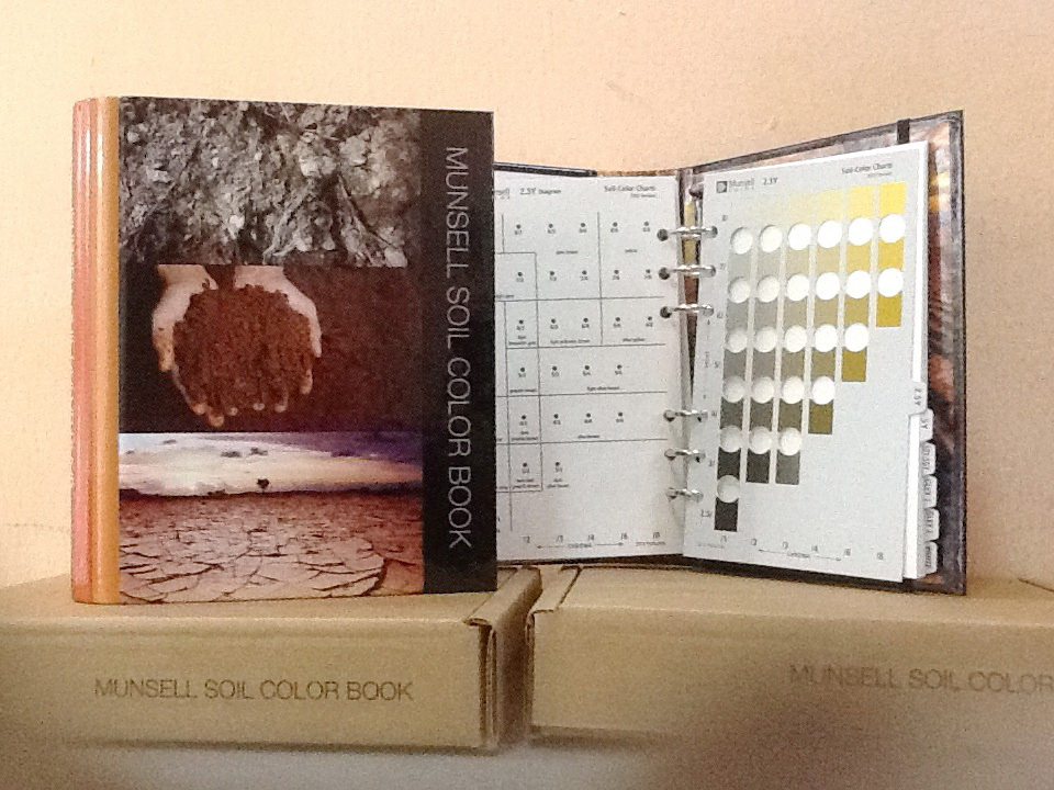 munsell soil colour chart 2009 edition
